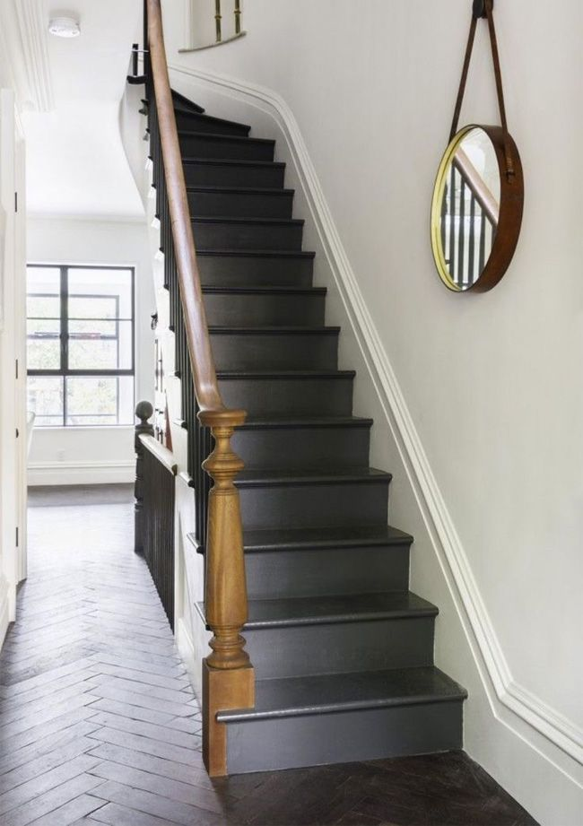 Always wanted two sets of stairs in my house, and the \