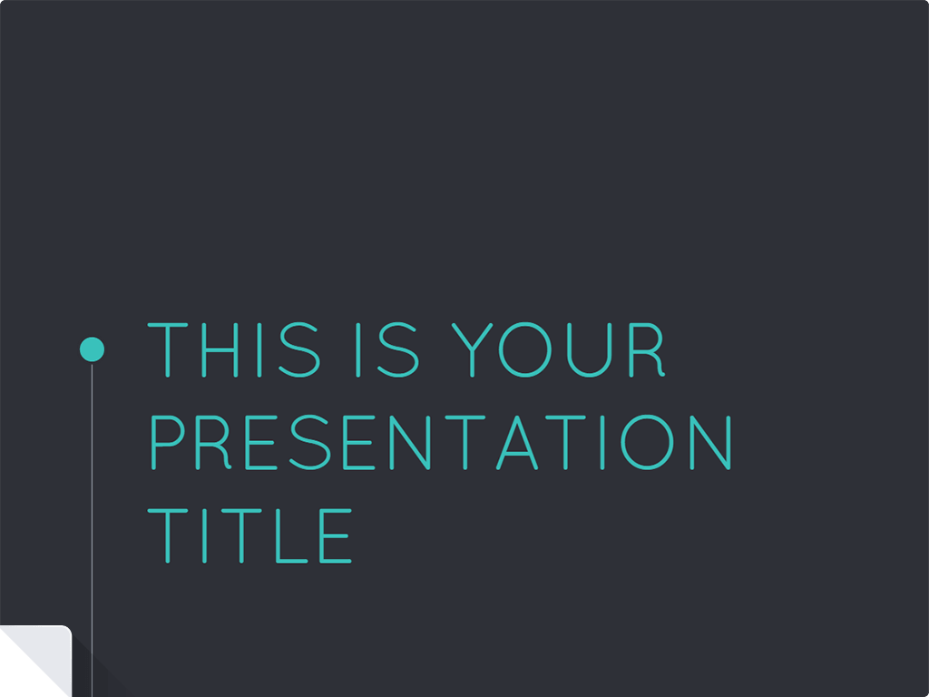 Nice modern #presentation template ready to use for Google Docs or ...