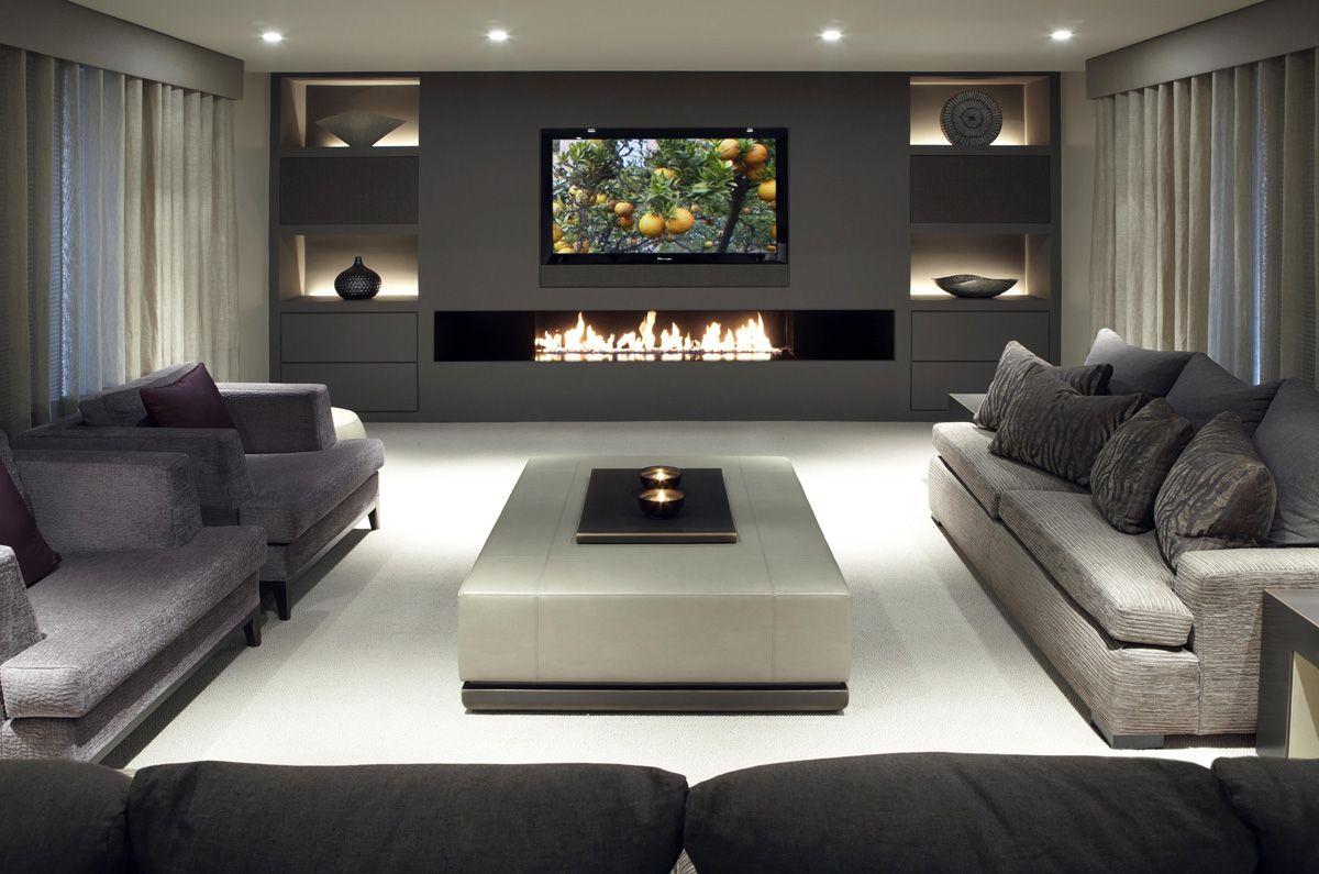 40 idee di un soggiorno minimal per una stupenda casa moderna ... - Parete Soggiorno Minimal