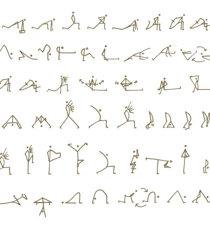 ASANAGLYPHS - Jago Yoga asanaglyphs Pinterest Yoga, Asana - yoga resume
