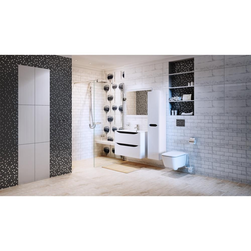Serie Mebli Lazienkowych Smile W Sklepach Leroy Merlin Bathroom Bathtub Merlin