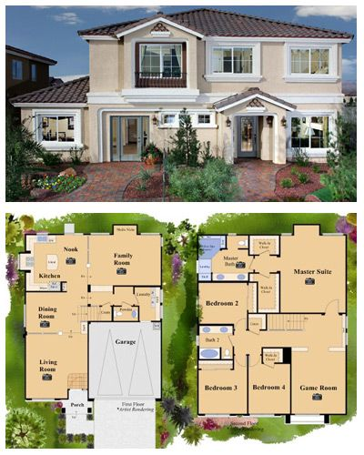 The Noah Is A New American West Home For Sale With 4 Beds 2 5 Baths And A 2 Car Garage It Is Located In The Commu Dream House Plans West Home Mansions Homes
