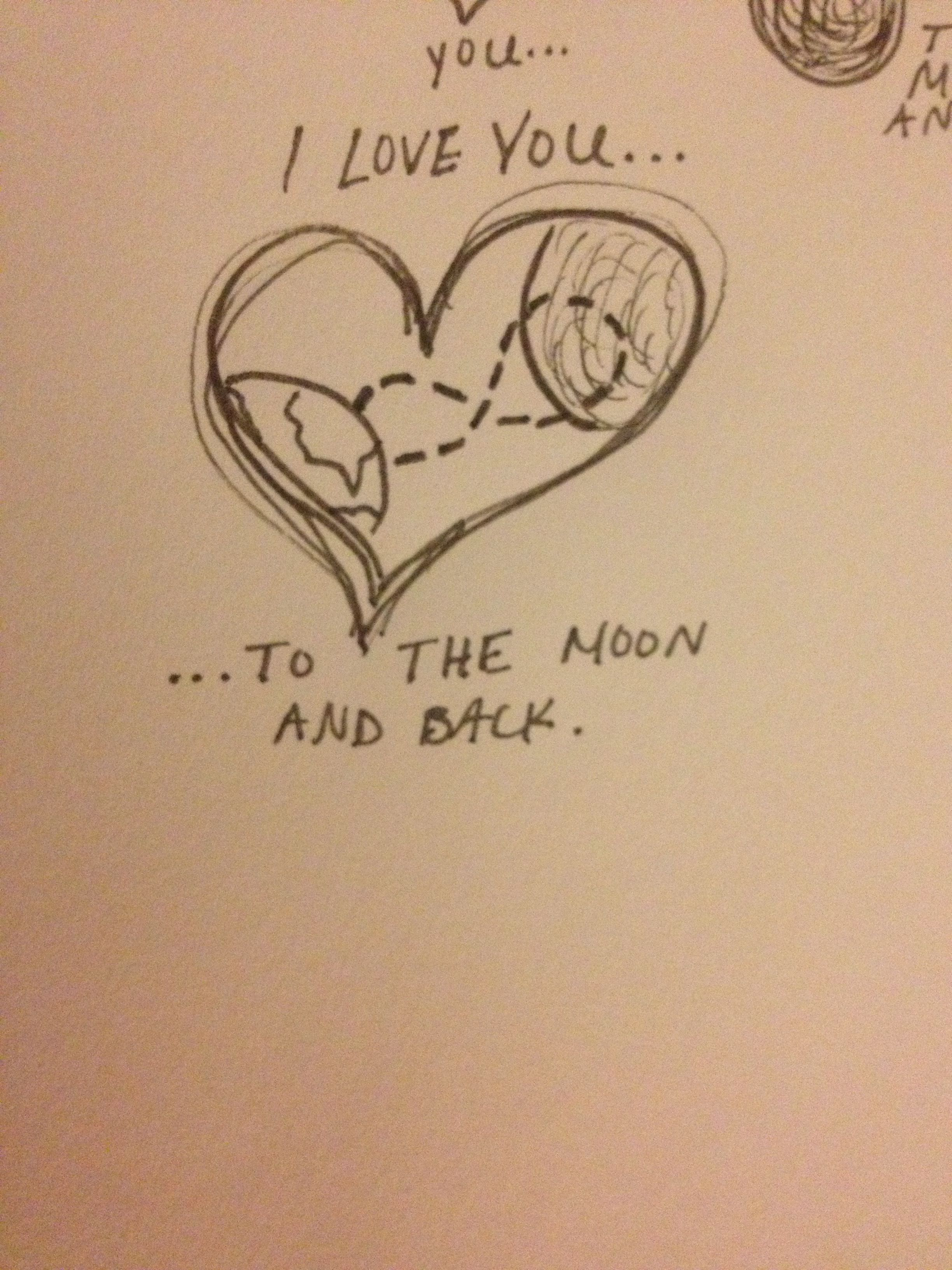 Tattoos Of Love You To The Moon And BackI Love You To The Moon And Back Tattoo Ideas