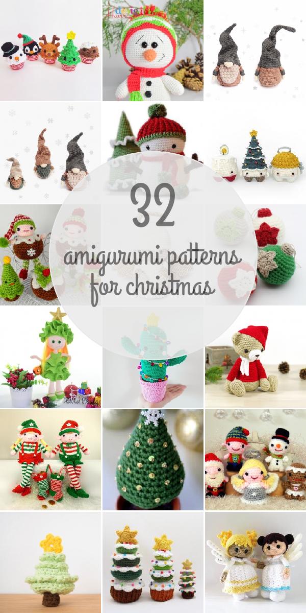 Amigurumi Patterns For Christmas | Weihnachts - Amigurumis ...