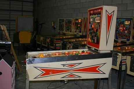 1961 Gottlieb Big Casino Pinball Machine
