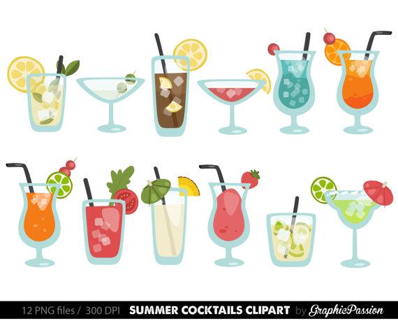 summer cocktails clipart cocktail clip art summer clip art drinks rh pinterest com clip art drinks and food clip art drinks and food