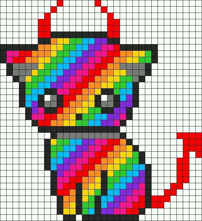 épinglé Par Jessica Michele Hendershot Sur Perler Pixel