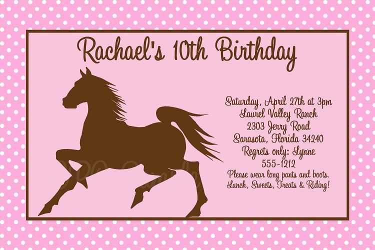 graphic relating to Free Printable Cowgirl Birthday Invitations identify Horse Birthday Invites Absolutely free Printable 4 Angelos