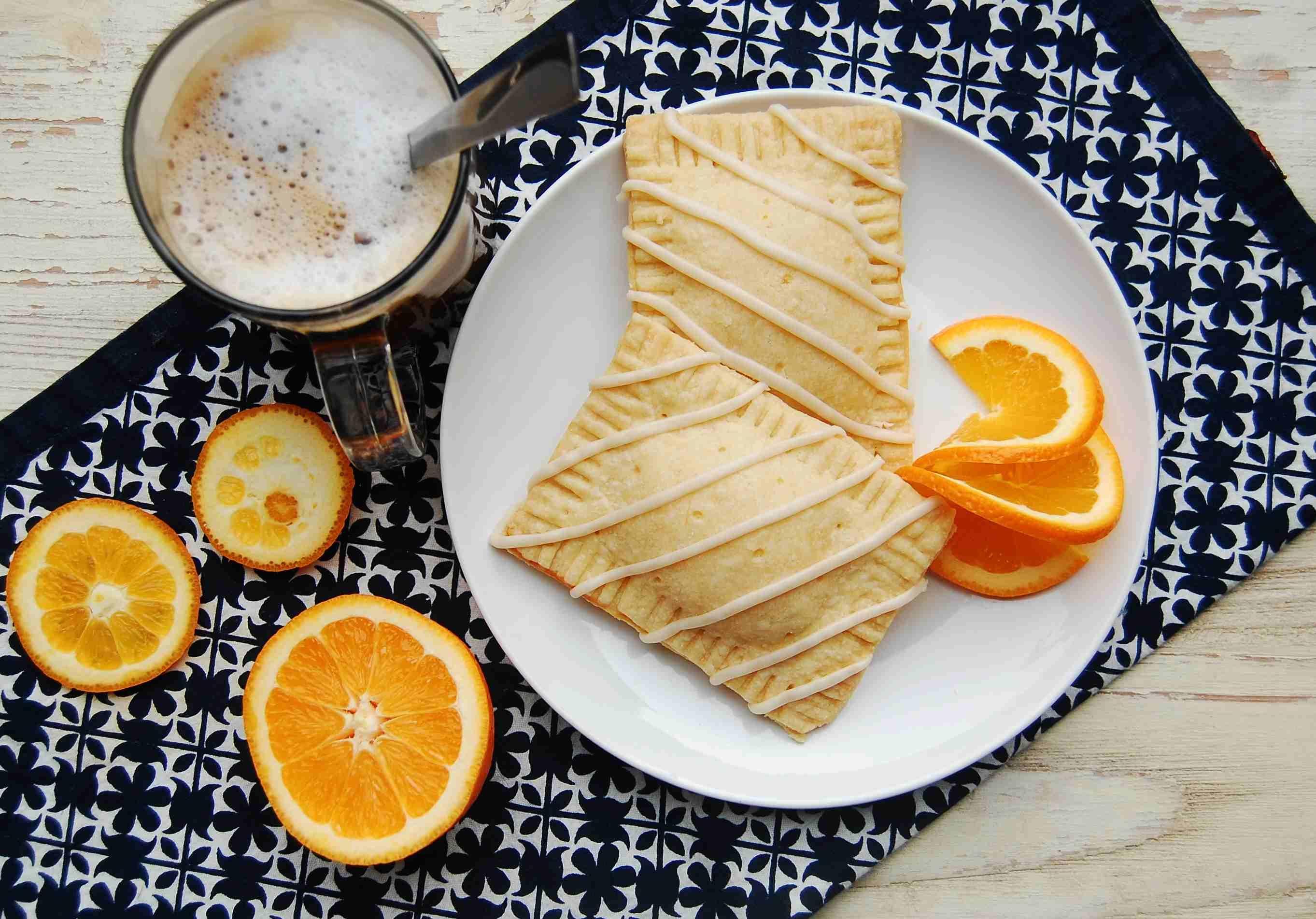 Orange Ricotta Pop Tarts [adapted From Smitten Kitchen]