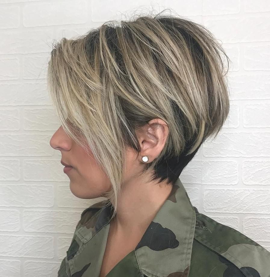 classy short haircuts and hairstyles for thick hair pixie bob