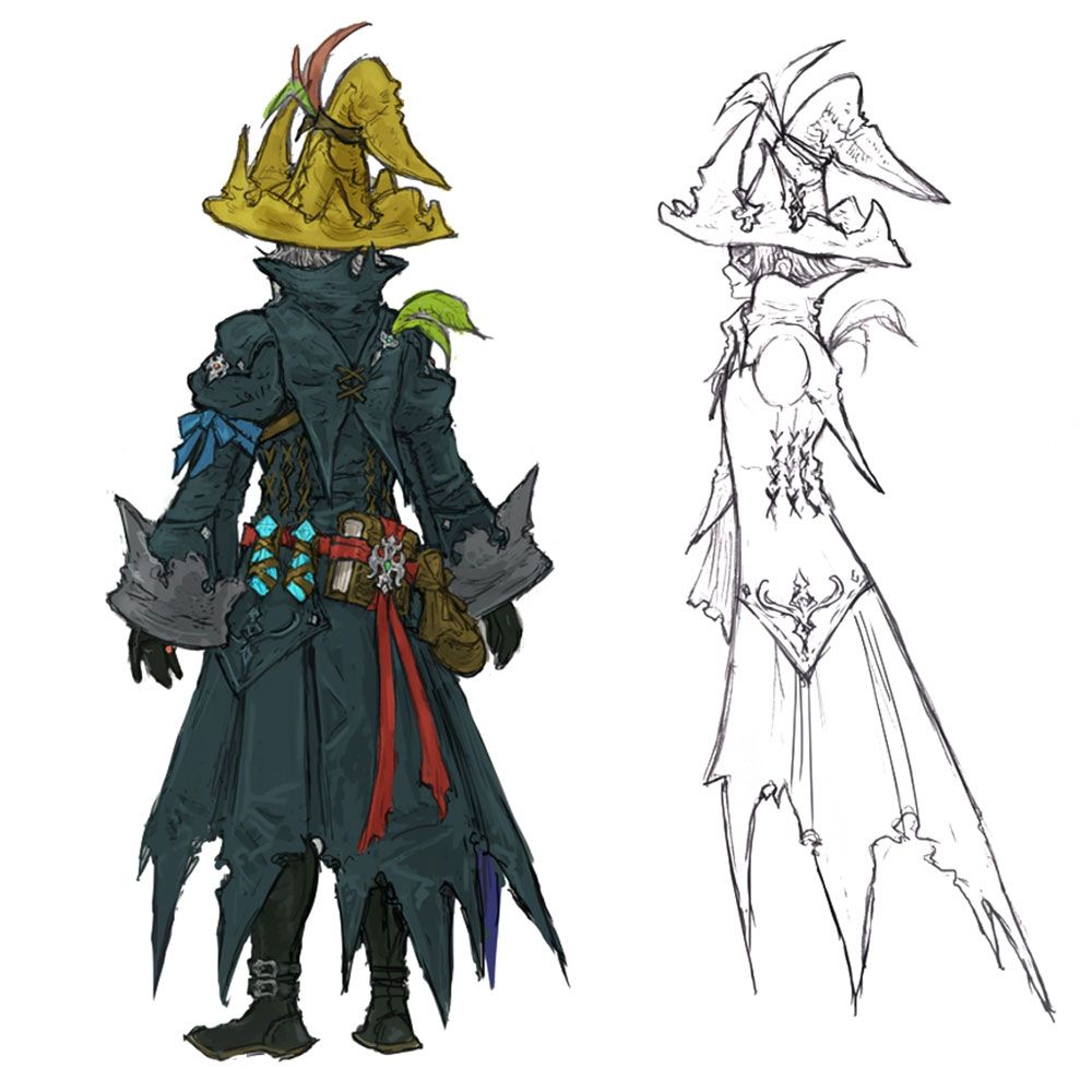 Black Mage Backside from Final Fantasy XIV: Stormblood ...