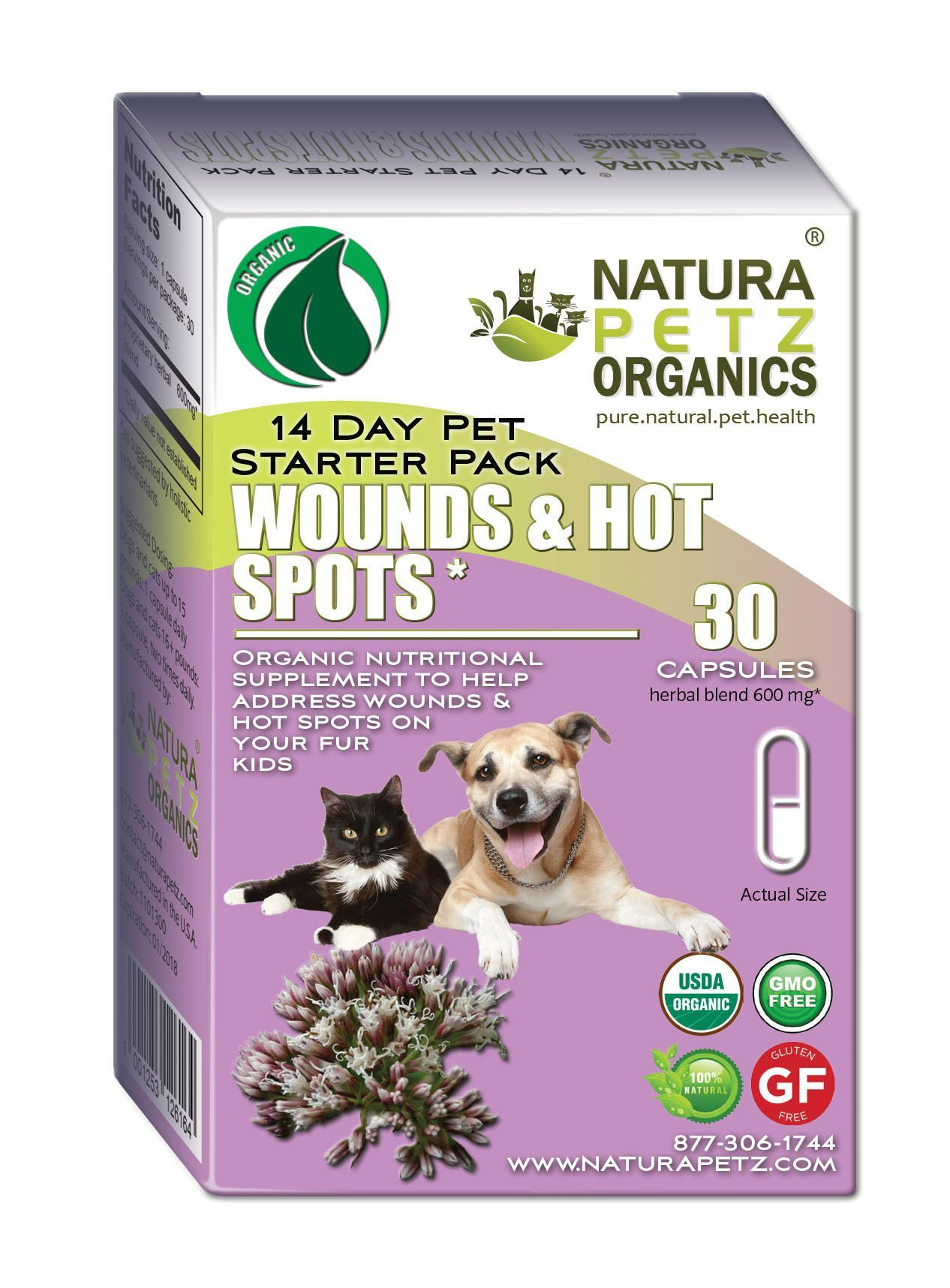 Wound and Hot Spot Starter Pack for Dogs and Cats * Dog