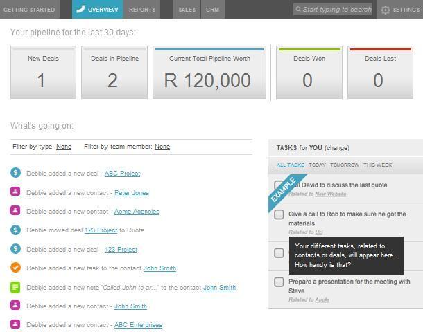 Base CRM Sales  Tasks Base CRM Pinterest Business