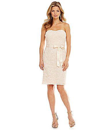 Jessica Simpson Lace Sheath Dress #Dillards