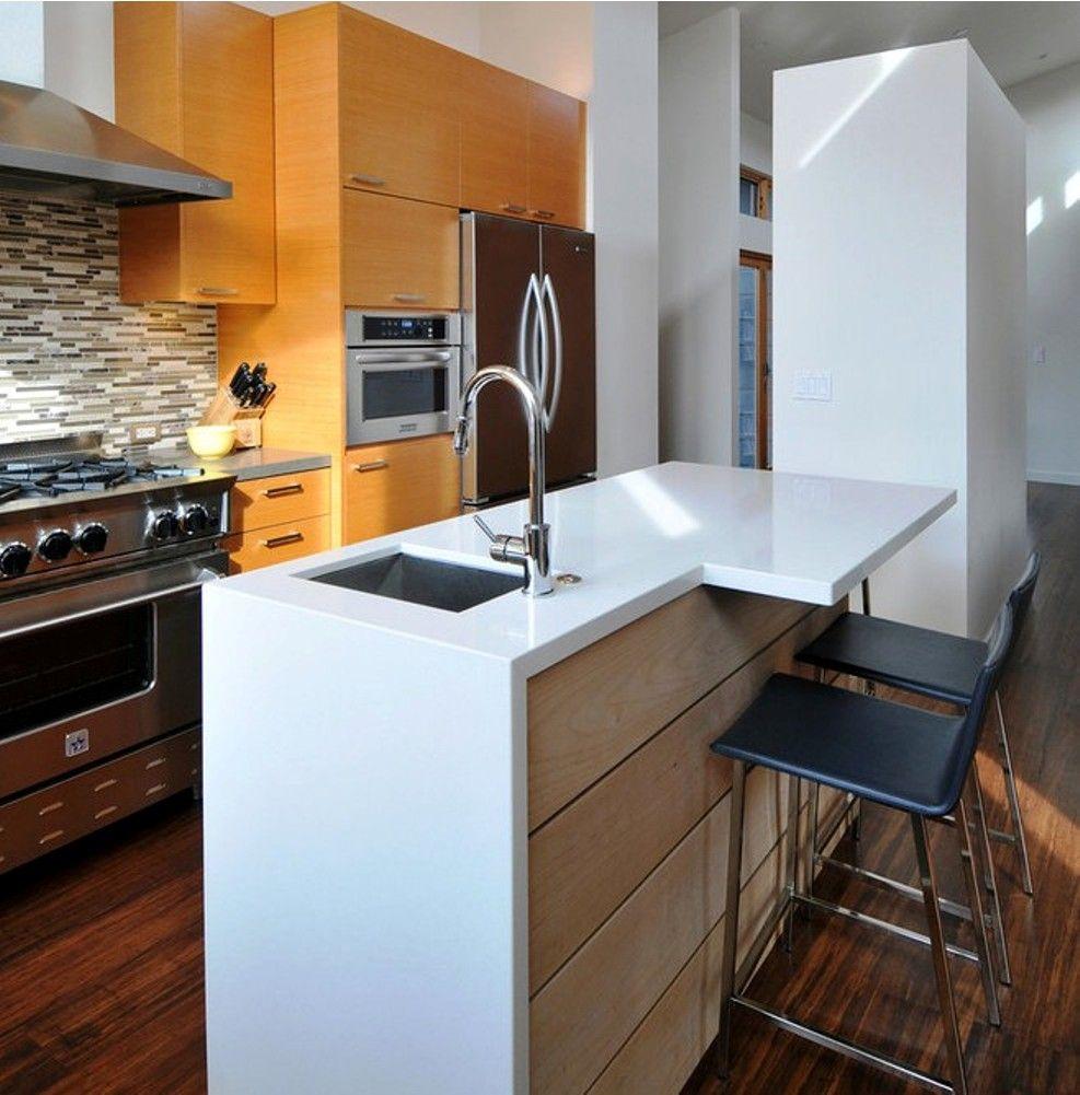 Kitchen Island Overhang For Bar Stools Modern Kitchen Islands Design Ideas Small House Renovation Kitchen Room Design Small Modern Home