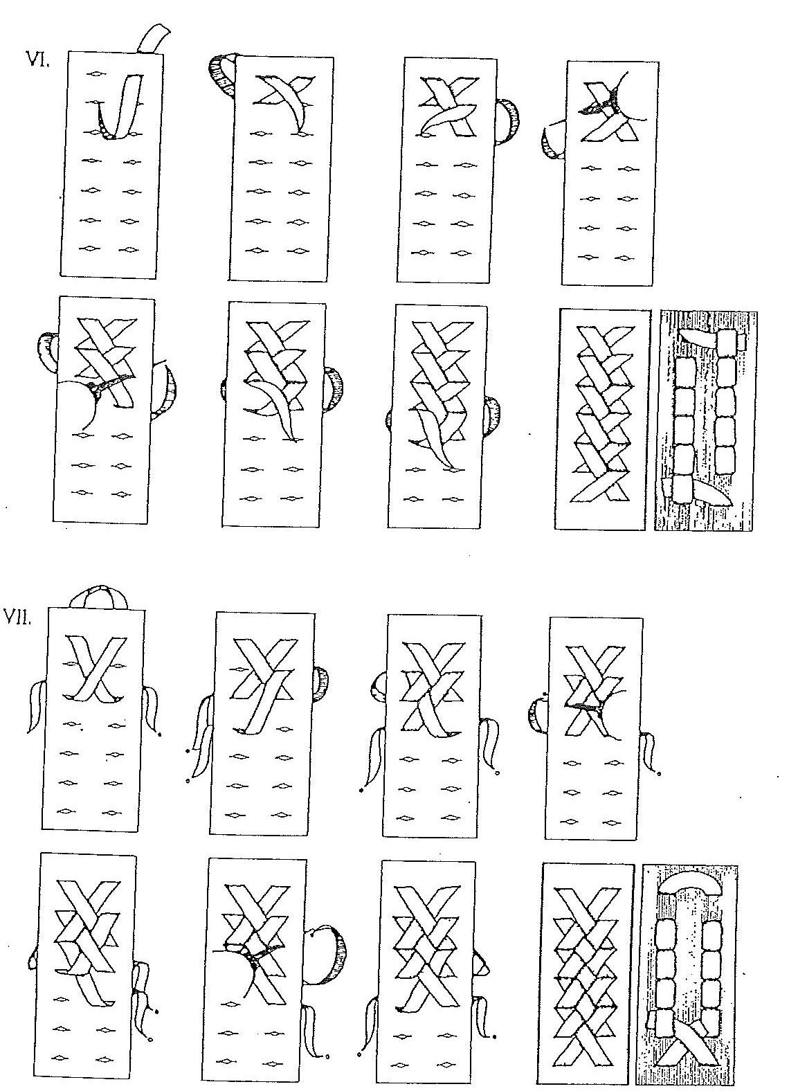 Stitch - Leather / tipos de costura | Bracelets | Pinterest | Cuero ...