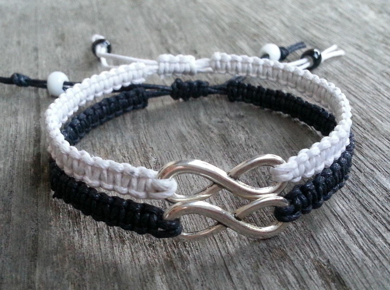 Couples Bracelet- Lovers Boyfriend & Girlfriend Bracelet, INFINITY ...