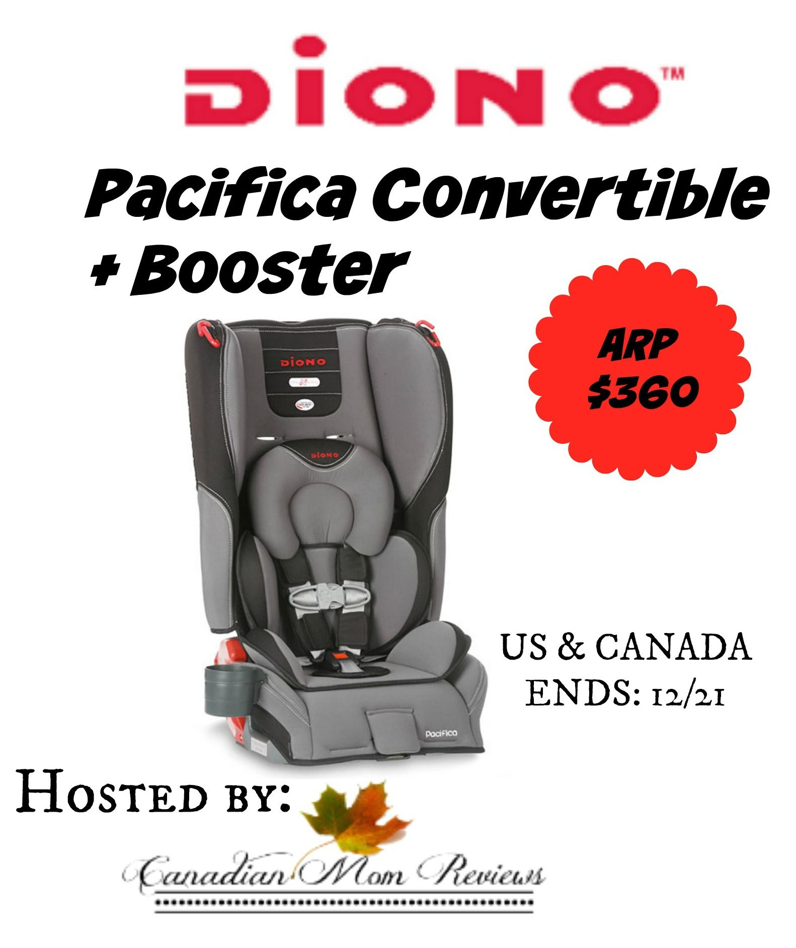 360 Pacifica Convertible+ Booster Giveaway US/Can