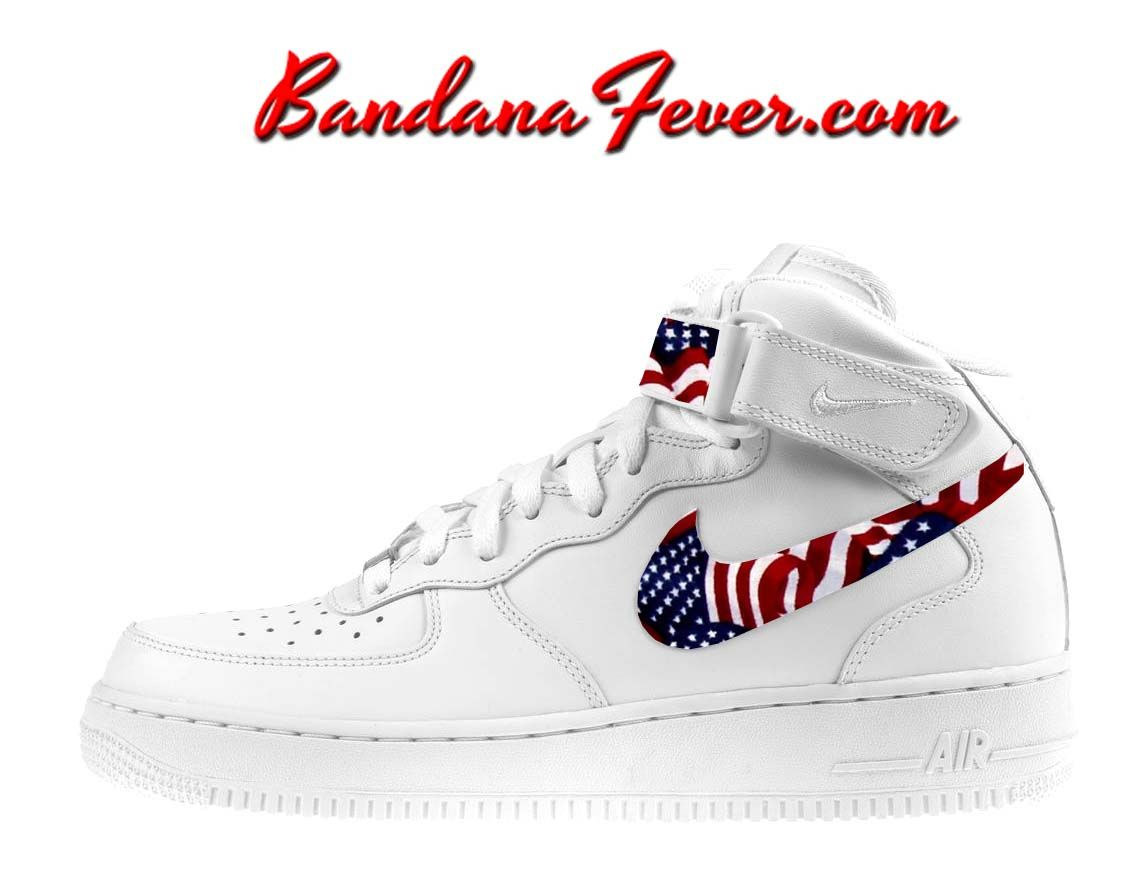 best sneakers 0378d b4f15 Cortez Leather BlackWhite White Bandana free shipping 6516a 60533 Bandana  Fever Custom Design ...