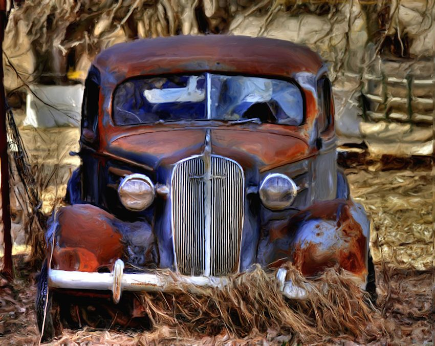 Old rusty car | ( Abandoned Vehicles ) | Pinterest | Rusty cars ...
