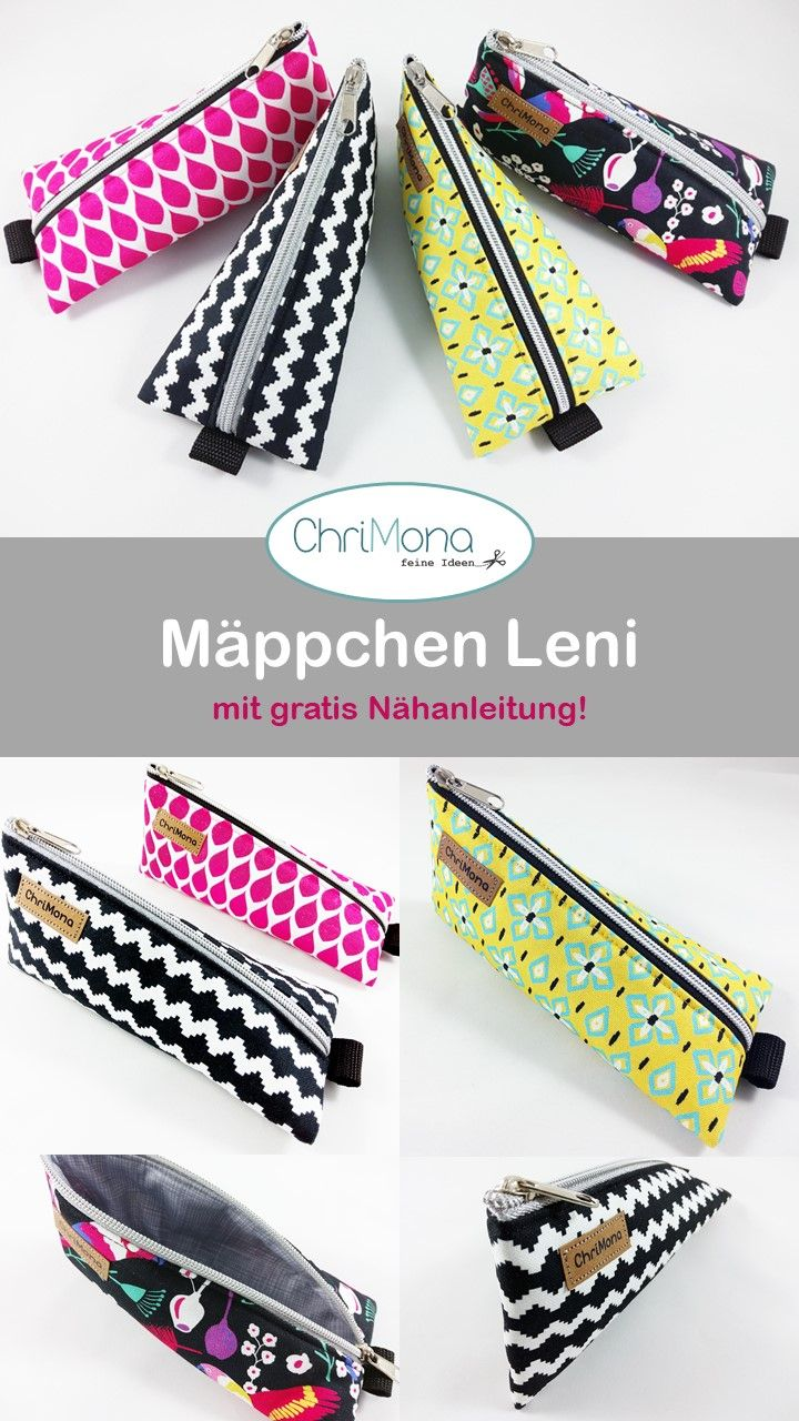 Photo of Leni pencil case – with free sewing instructions – sewn by Chrimona