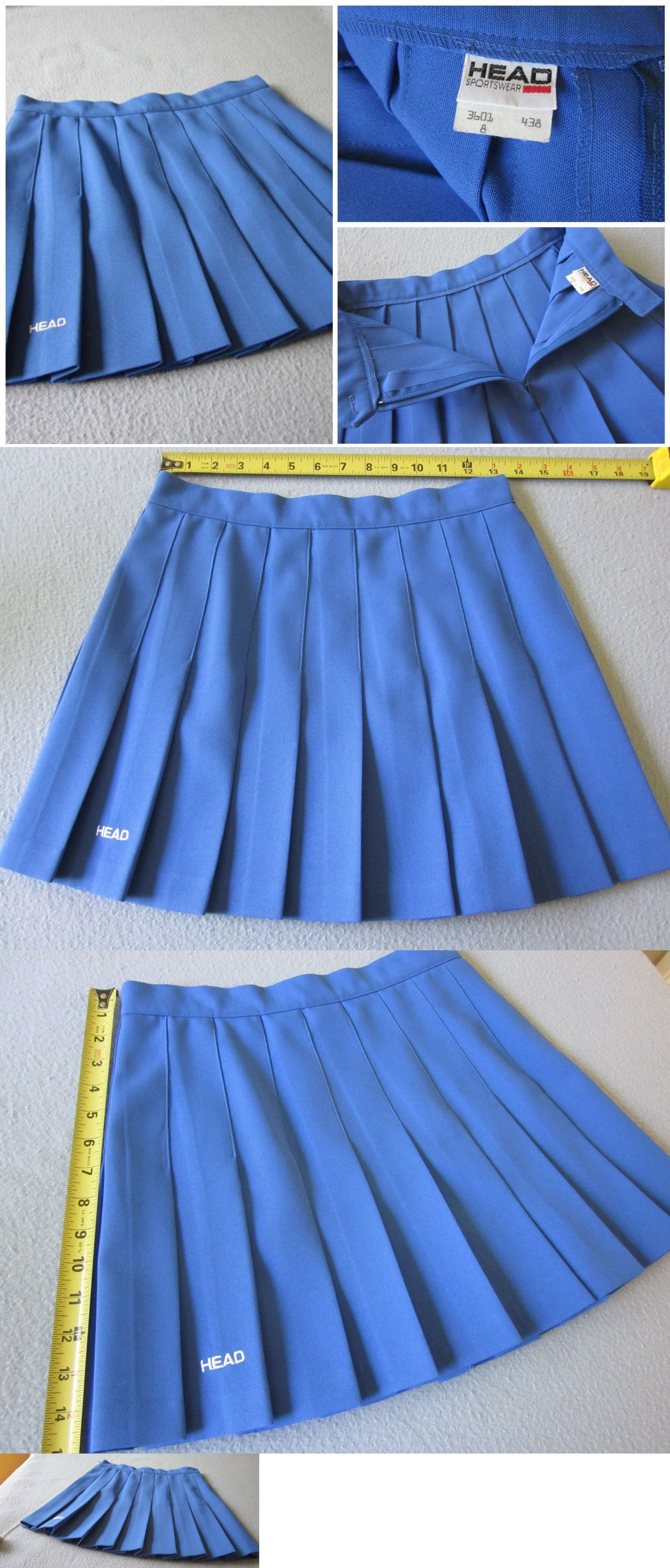 927ba6e222 Skirts 50992: Head Tennis Skirt Blue Pleated Size 8 -> BUY IT NOW ONLY:  $27.5 on #eBay #skirts #tennis #skirt #pleated