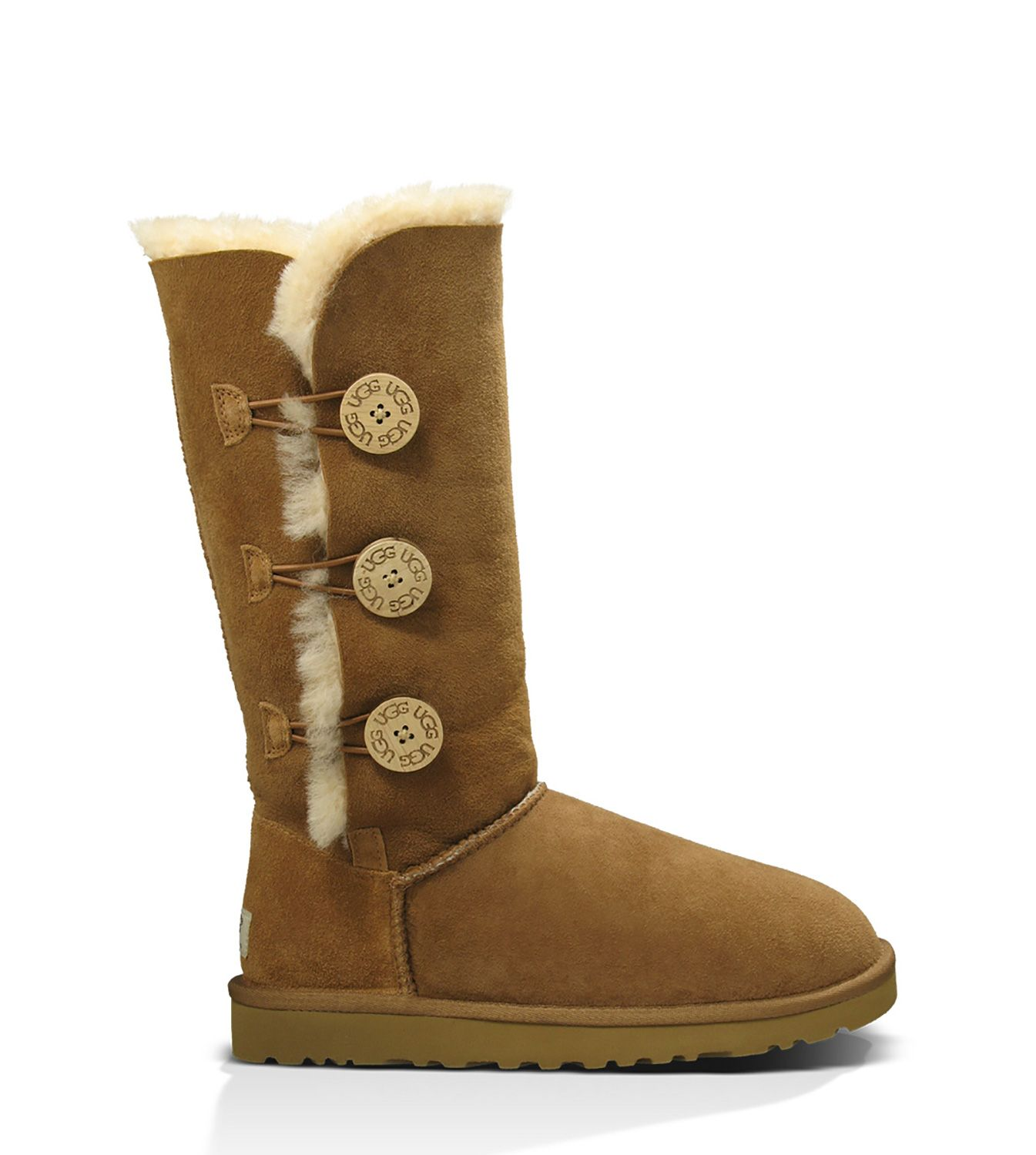 55df5430018 UGG® Bailey Button Triplet Boots for Women. Find this Pin ...