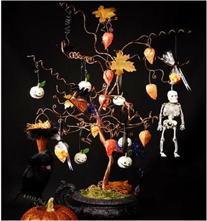 How to make spooky halloween tree stepbystep events for Creepy trees for halloween