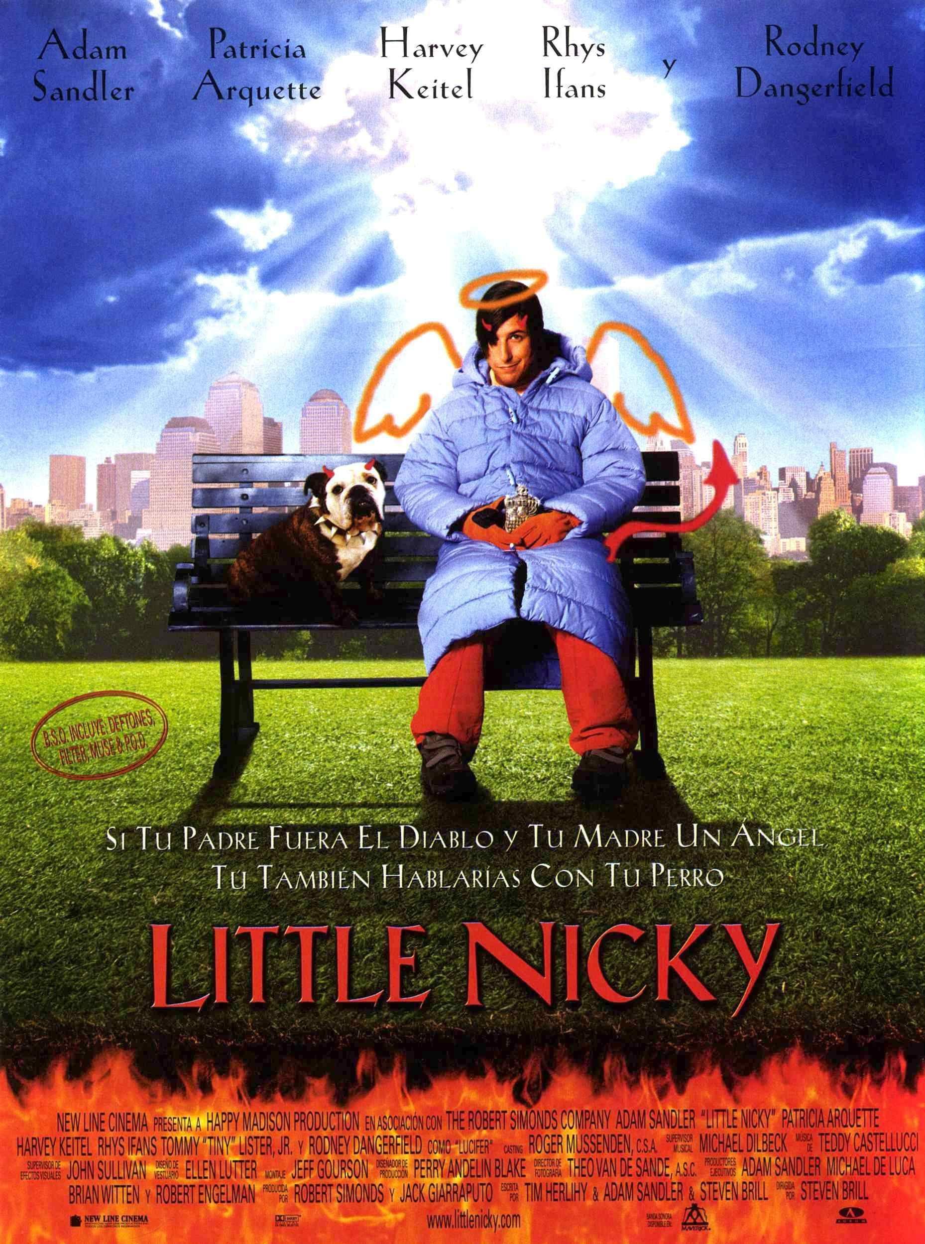 Cartel Espanol De Little Nicky Peliculas Carteles De Cine Carteles De Peliculas