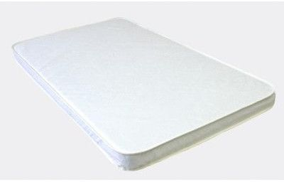 Baby Luxe by Priva Porta-crib Pad Quilted White Vinyl on shopstyle.com