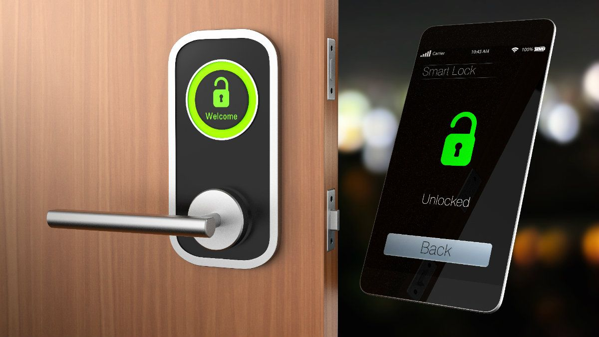 The Best Smart Locks To Keep Your Home Secure Komando Com In 2020 Smart Lock Smart Door Locks Fingerprint Technology