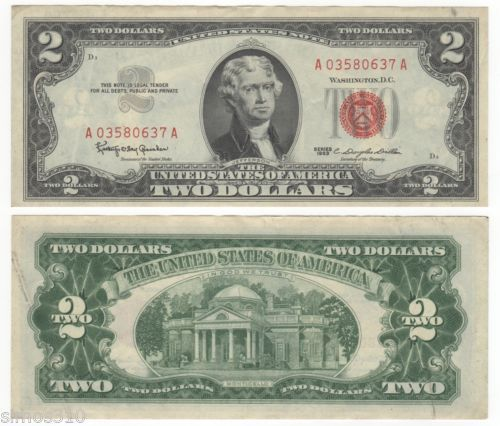 VA 10 Uncirculated $2 Two Dollar bills Crisp notes FREE SHIPPING FROM THE US