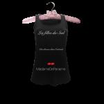 Débardeur  «Les filles du Sud, des déesses dans l'attitude» en vente ici http://madamedepaname.co/produit/debardeur-sud/