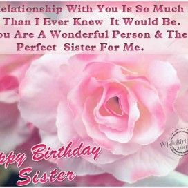 Birthday Wallpapers For Younger Sister Birthday Wishes For Sister Inspirational Birthday Wishes Wish You Happy Birthday