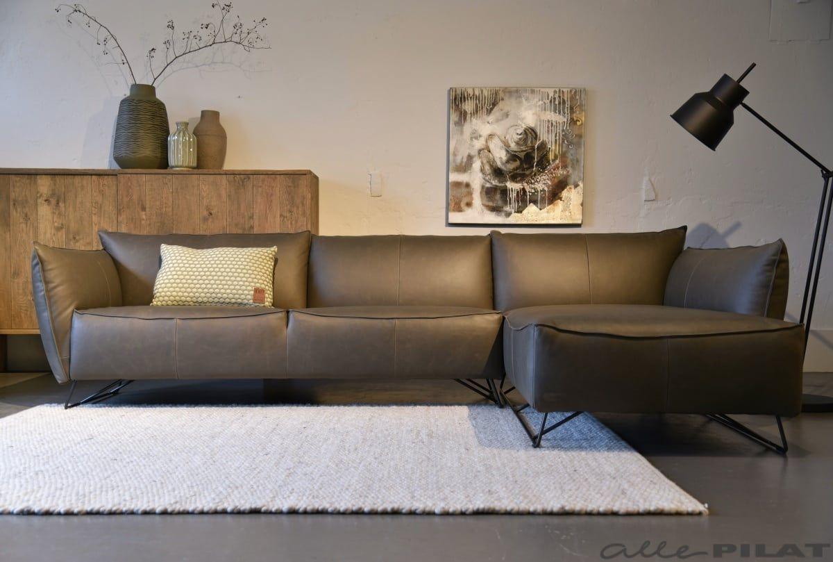 Design Hoekbank Leer.Hoekbank My Home Jess Design In Stoer Leer Woonwinkel Hoekbank