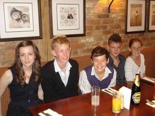 "via Ben Selley @Concept_Ben twitter:  ""@GemmaStylesPal: Young @Gemma Styles @Harry_Styles @matty_selley @Ella 1D @Concept_Ben oh lord ahha xx"