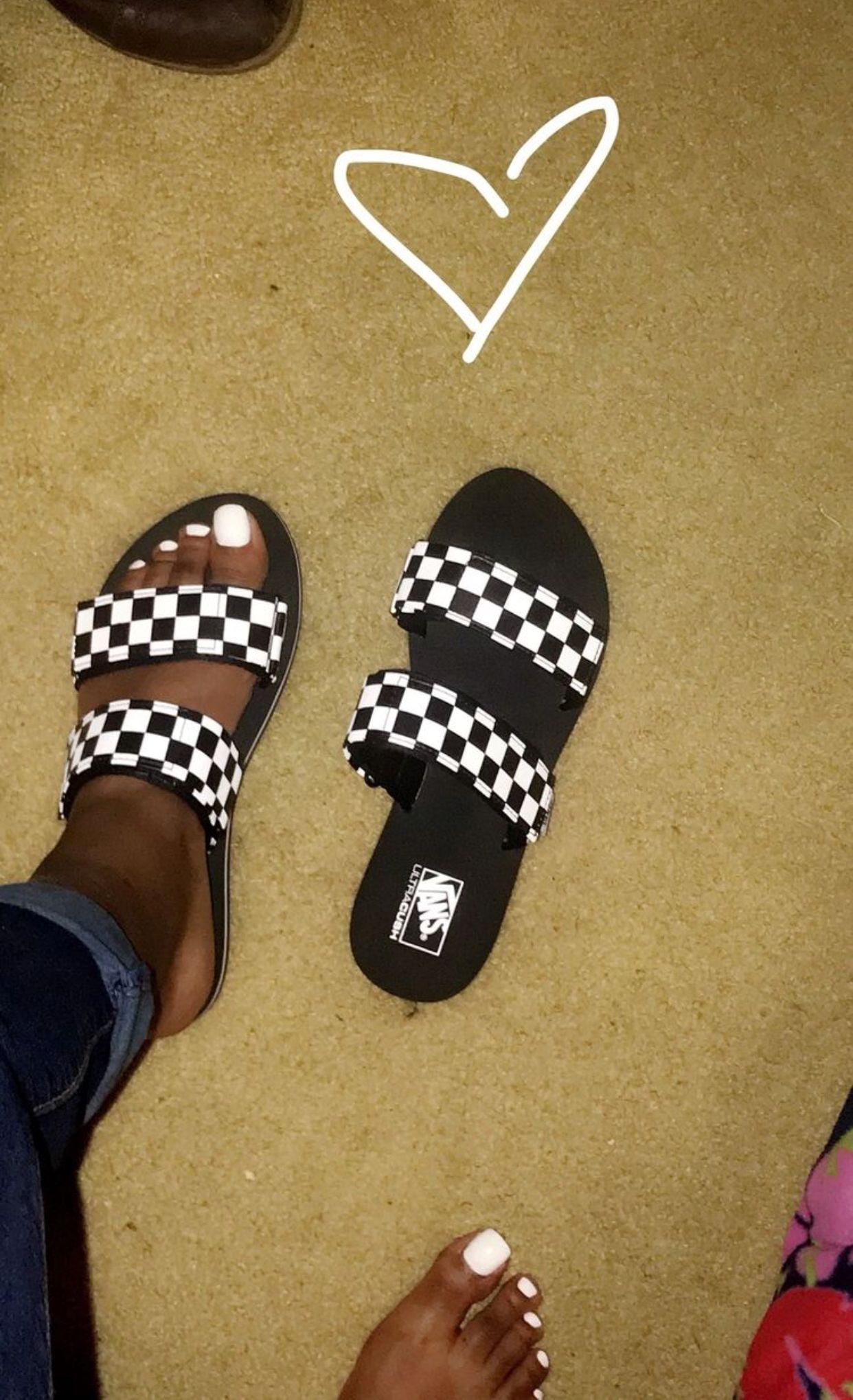 slippers femme vans