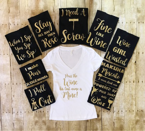 Bachelorette Party Shirts Bridal Party Shirts Bridesmaid Gift