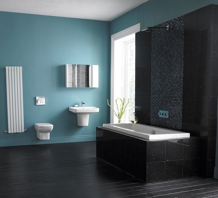 10 small bathroom ideas pinterest. Black Bedroom Furniture Sets. Home Design Ideas