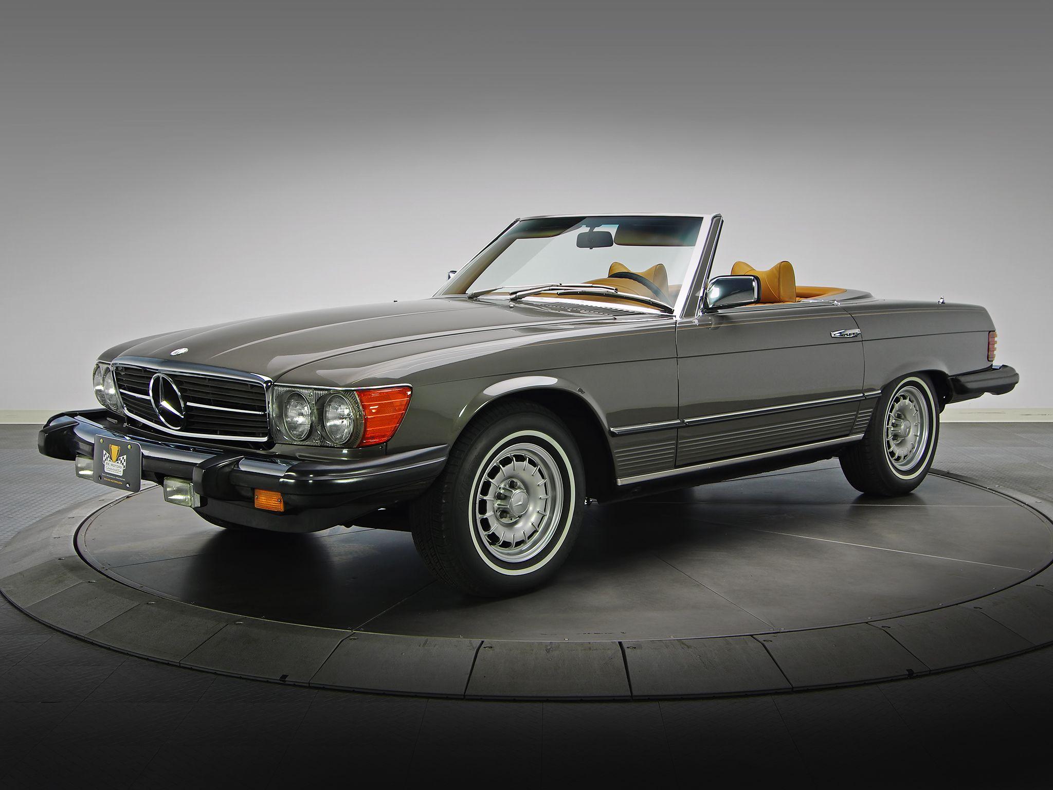 1972 80 mercedes benz 450 sl us spec r107 classy