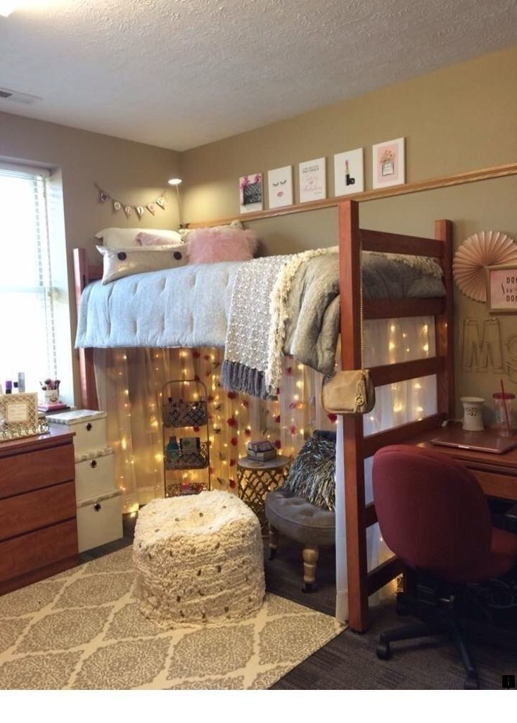 48 Feminine Girl Dorm Room Design Ideas - decoarchi.com #girldorms