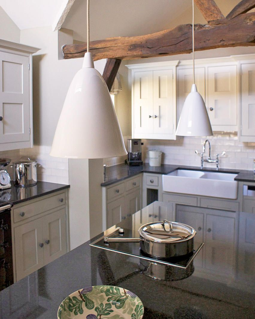 Kitchen Furniture Company A Pair Of Bone China Pendant Lights By Original Btc Elegantly