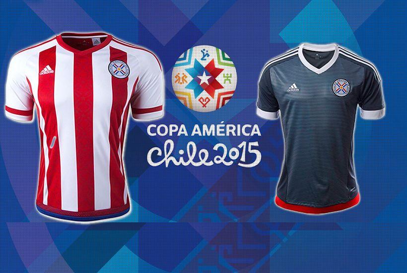 6bdfe7323f78b Los uniformes de la Copa América - Futbol Total paraguay