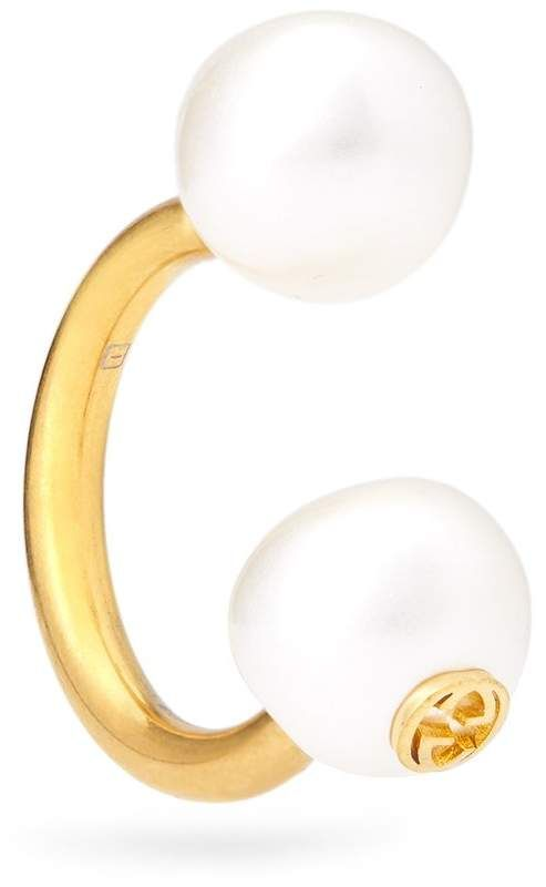 Pearl-effect single earring Gucci 20vE1X