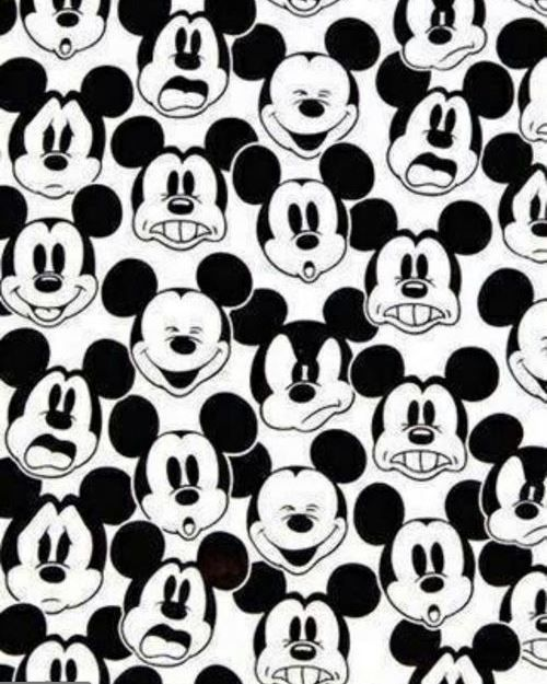 Disney Mickey Mouse Black And White IPhone 5 Wallpaper