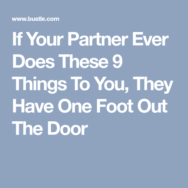 one foot out the door quotes