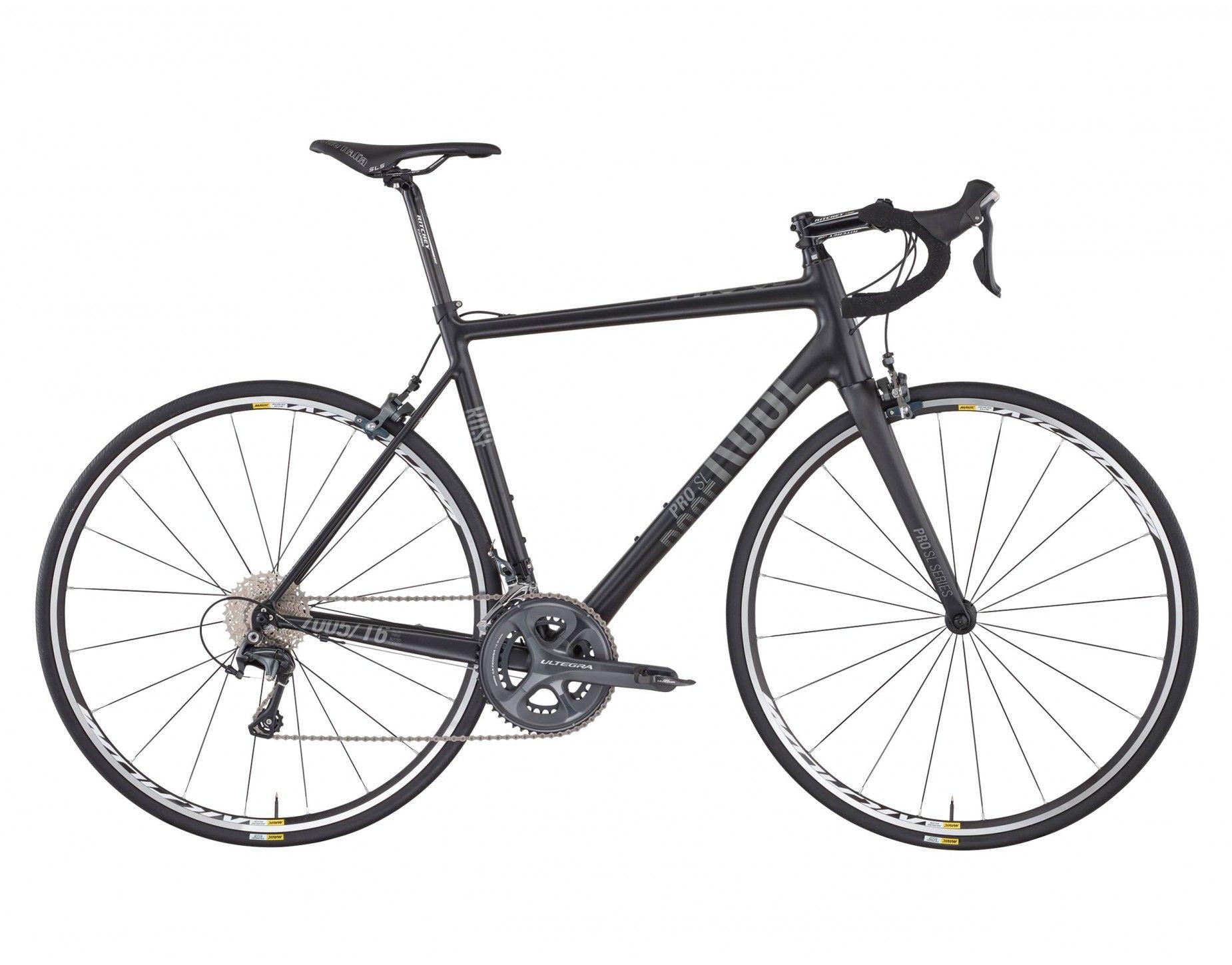 Rose Pro Sl 3000 Bike Now Matt Black Grey Fahrrad