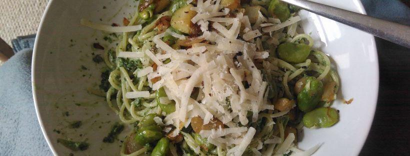 Super quick delicious kale pesto  https://crushedwhippedandbeaten.wordpress.com/2016/05/03/super-quick-delicious-kale-pesto/