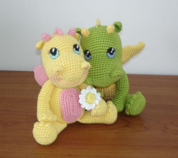 Baby Dragons by Vanja Grundmann–AmigurumiBB | Crochet | Pinterest