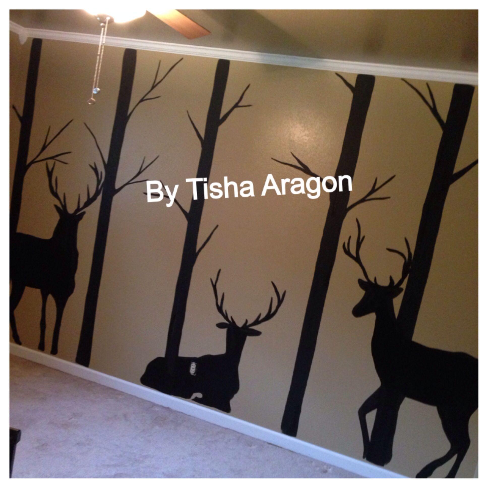 Painted Hunting Room Hunting Room Hunting Themed Bedroom Camo Rooms